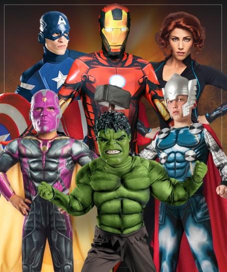 Déguisements The Avengers