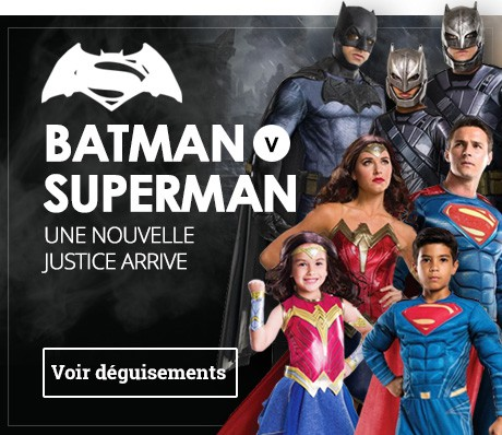 Déguisements Batman v Superman