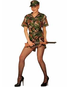 Déguisement militaire O'Neil femme