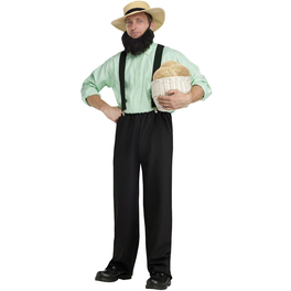 Déguisement amish américain des champs adulte
