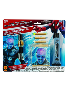 Kit Maquillage Electro The Amazing Spiderman 2 homme