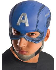 Masque Captain America garçon