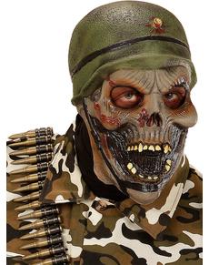 Masque soldat squelette adulte